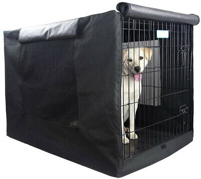 """Dog Crate Cover 42"""" Extra Large Kennel XL Wire Cage Huge Folding Giant Breed"""