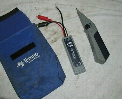 Tempo Tone PTS100 Probe PTS200 Cable line tracing Generator Bt greenlee lan test