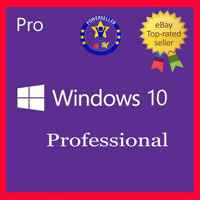 Microsoft Windows 10 Pro Professional 32 & 64 Bit Product Key Vollversion Win 10