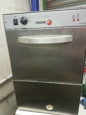 Fagor 16 Pint Glasswasher With Drain Pump Package With Free Accessories