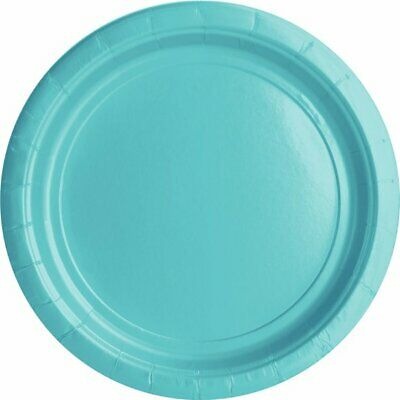 Robins Egg Blue Tableware Complete Party Birthday BBQ Plates Cups Tablecover