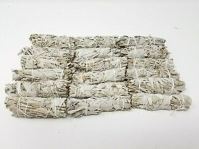 "California White Sage Smudge Incense 4"" Bundle (100 pcs)"
