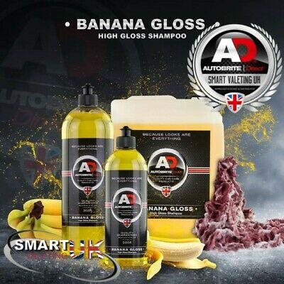 Autobrite Direct Banana Gloss Hyper Concentrated Shampoo 500ml