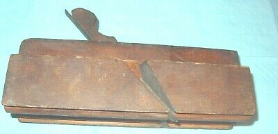 """Molding Plane: Casey & Co., Auburn;  2 11/16"""" Wide Complex;  Reverse Ogee, And"""