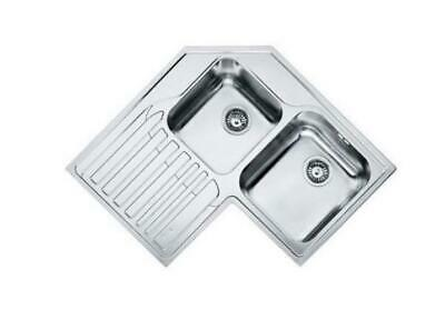 Franke 101.0001.045 Sink Basin Angle Stainless Steel Satin