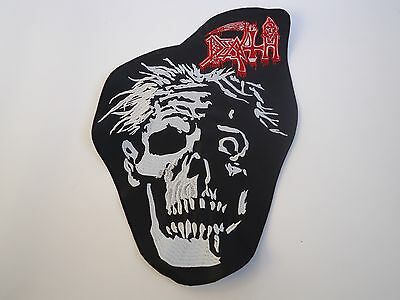 Death Zombie Embroidered Back Patch