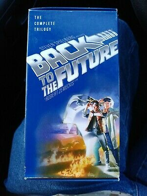 Back To The Future The Complete Trilogy VHS-2002 Universal Studios