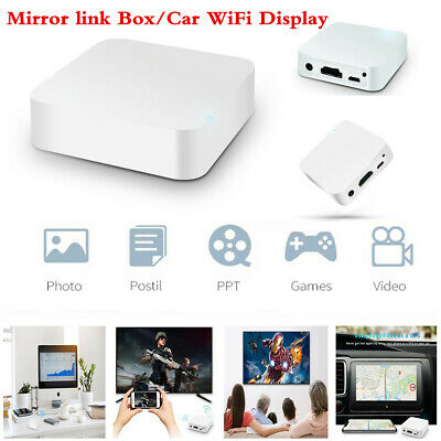 NEW WIFI AIRPLAY Miracast Screen Mirroring Box For Car Phone