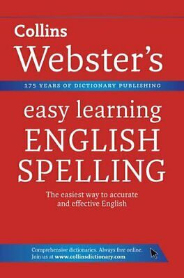 English Spelling (Collins Webster's Easy Le... by Collins Dictionaries Paperback