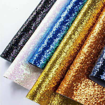 50cm*138cm Chunky Glitter Wallpaper 3D Sparkly Glitter Fabric Wall Paper
