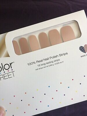 COLOR STREET Nail Strips - At The Plaza -  FREE SHIPPING