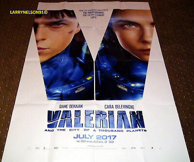 Valerian And The City Of A Thousand Planets Poster 27X40 Agent Laureline Cara