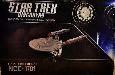 "Star Trek Discovery U.S.S. Enterprise NCC-1701 Eaglemoss 8 1/2"" length"