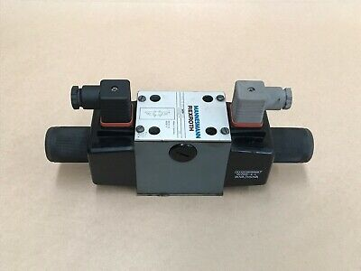 Rexroth Mannesmann Directional And Solenoid Hydraulic Valve 4We 10 R30/Ow110N9Z4