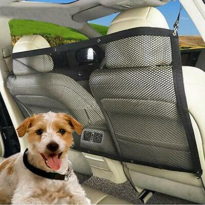 Dog Barrier Auto Car SUV Safety Mesh Backseat Universal Pet Divider Net