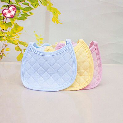 Newborn Baby Bibs Cotton Feeding Bandana Burp Cloths Infant Kids Scarf Hot Sale