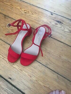 Girls New Look Red Sandals Size 4