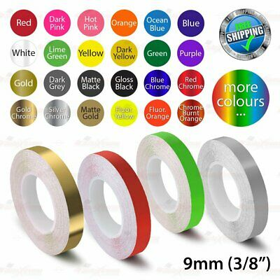 """9mm 3/8"""" PinStriping Pin Stripe Tape Car DIY Styling Line Decal Vinyl Stickers"""