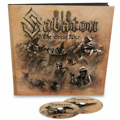 Sabaton - The Great War (Earbook Edition) Limited Edition 2CD NEU OVP