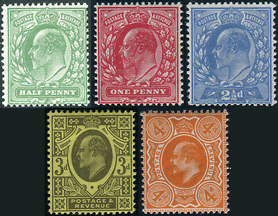 1911 Harrison Sg 279-Sg 286 Perf 15x14 Lightly Mounted Mint Single Stamps