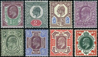 1911-13 Somerset House Sg 287-Sg 314 Lightly Mounted Mint Single Stamps