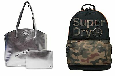 New Superdry Bags Selection - Various Styles & Colours 250719