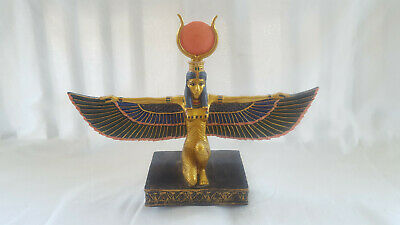 Collectible Summit Collection Ancient Egyptian Queen? Pheroh? Resin? Sculpture