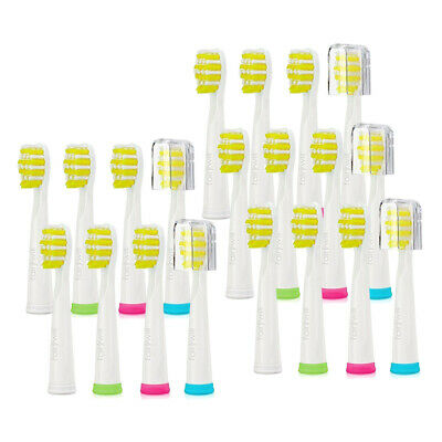 White Hard Electric Toothbrush Replacement Heads 20x for FW-508 507 Fairywill