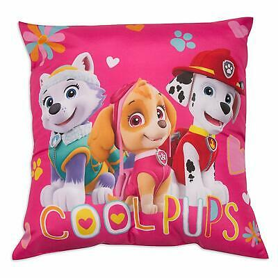 Paw Patrol Cushion Featuring Skye, Everest and Marshall Cool Pups