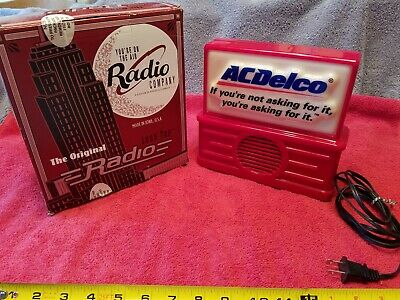 Ac Delco Transistor Radio By The Original Logo Top Radio Company Lt100 Works Usa