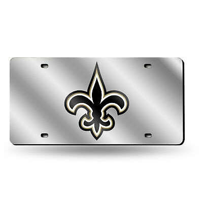 921877cc NEW ORLEANS SAINTS FROST Design Deluxe Laser Acrylic License Plate ...