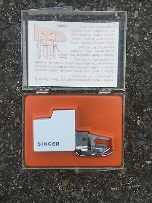 Vintage Singer Smooth & Even Feed Sewing Machine walking Foot C-400BoxAA