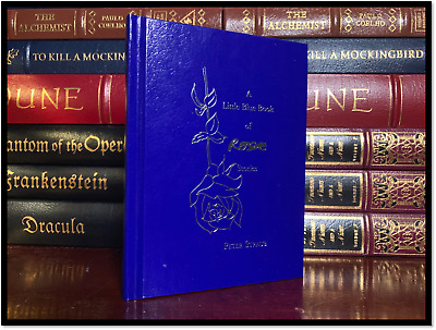 Little Blue Book of Rose ✎SIGNED✎ by PETER STRAUB Mint Limited Hardback 1/500