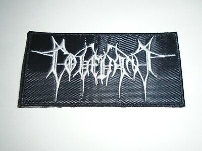 Covenant Industrial Metal Embroidered Patch