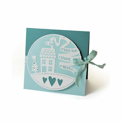 Nuevo Sizzix Thinlits Die- From Our Home