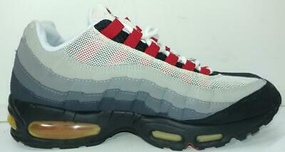 NIKE AIR MAX 95 Chili size 9.5 # 609048 062, 2005 release RARE Black Varsity Red