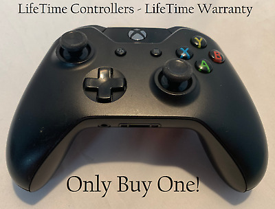 Original XBOX ONE Wireless Controller (2nd Gen) w/ 3.5 Black - LifeTime Warranty