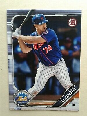 Peter Alonso 2019 Bowman RC - #BP-127--Definite N.L Rookie of the Year