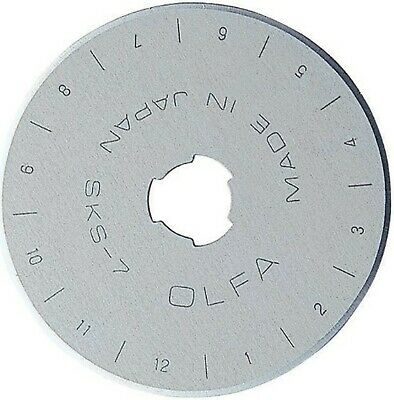 Olfa Rotary Blade Refills, 45 mm 2 per Package