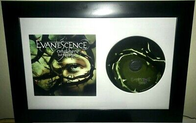 """Amy Lee Evanescence Signed Autographed Framed """"Anywhere But Home"""" Cd +Proof Rare"""