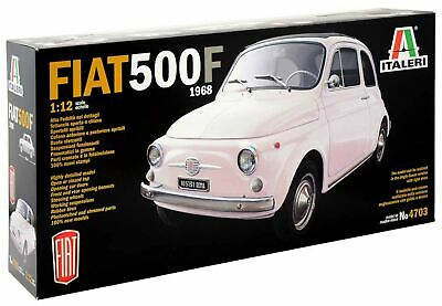 Italeri 510004703 Fiat 500 °F 1: 12 Scale 1968 Version