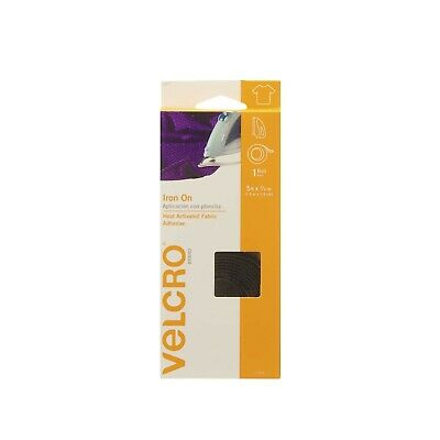 Velcro(r) Brand Fasteners 3/4-inch x 5 ft Fabric Fusion Tape, Black 5'