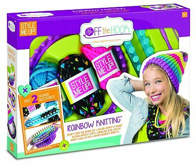 Style Me Up - Kids Scarf and Beanie Knitting Kit - DIY Crafts for Girls - Cro...