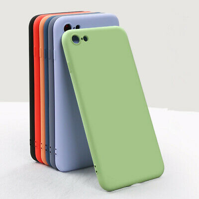 Sottile Liquid Silicone Morbido Bambino Custodia Cover For IPHONE Xs Max XR x 7