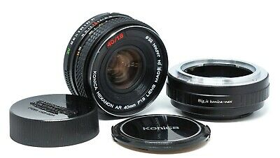 Konica Hexanon AR 40mm f/1.8 lens for Sony E (Nex and more other)