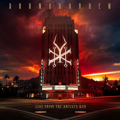 "Soundgarden : Live from the Artists Den VINYL 12"" Album Box Set 4 discs (2019)"