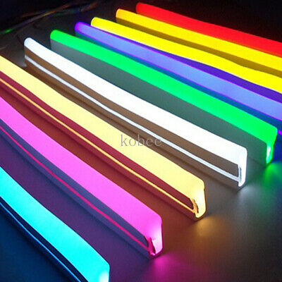 DC12V Flexible Led Strip Neon Tape SMD 2835 Silicon Rubber Tube Outdoor lighting