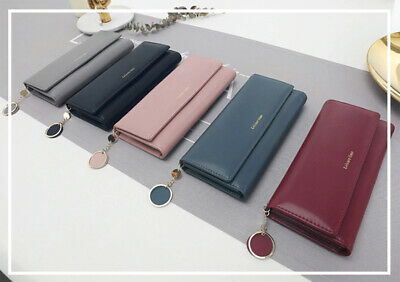 Women Ladies Clutch Leather Long Wallet Card Holder Phone Bag Case Purse Handbag