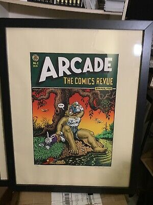Robert R. Crumb Signed & Numbered Print - Arcade #2