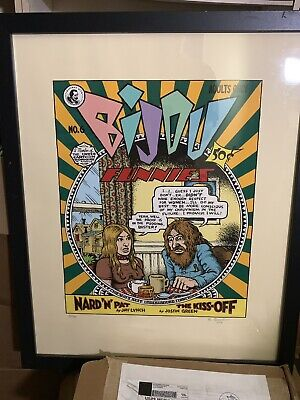 Robert R. Crumb - Bijou #6 Print - Signed & Numbered